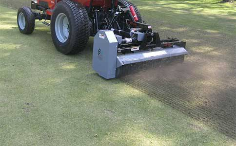 Turf Services By Cwst Aeration Top Dressing Verticutting