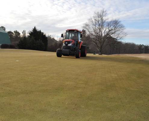 Deep-Tine Aeration