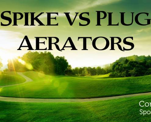 Commonwealth Sports Turf Blog Spike vs Plug Aerators 495x400 Golf Course Maintenance and Turf Services in Virginia