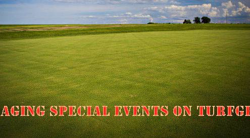 Managing Special Events on Turfgrass