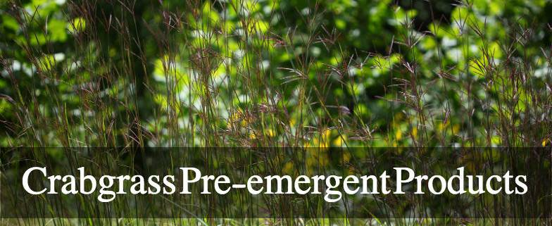 Crabgrass Pre-emergent Products