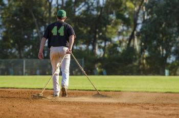 Spring is around the corner Preparing Baseball Fields1