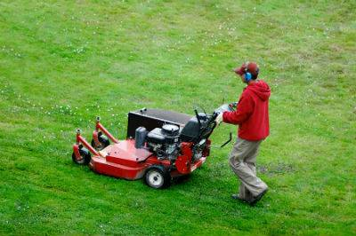 Top Dressing Uneven Lawns 3